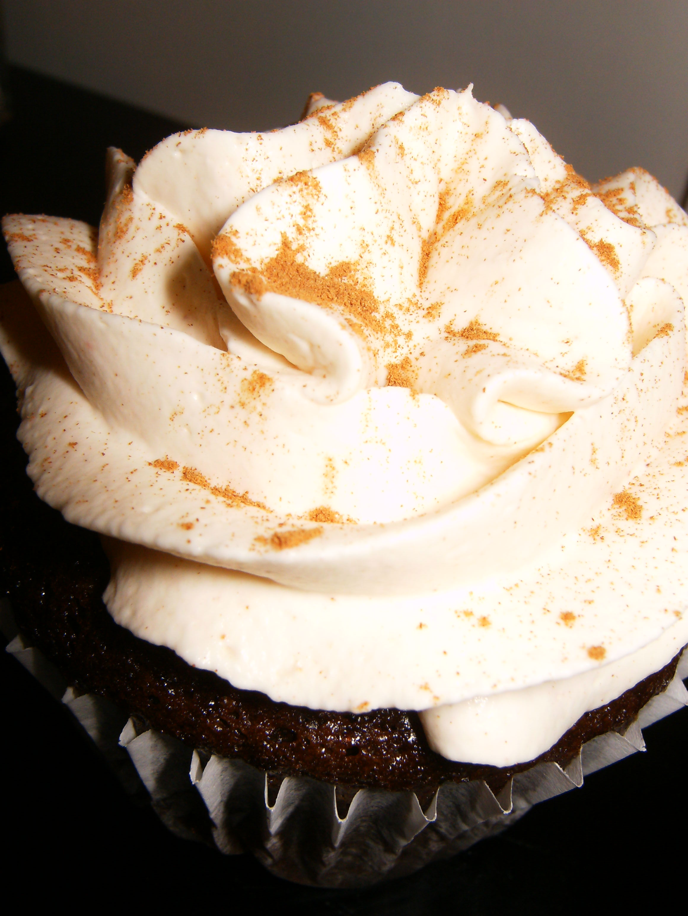 Mexican Hot Chocolate Cupcakes With Cocoa Whipped Cream Recipe ...